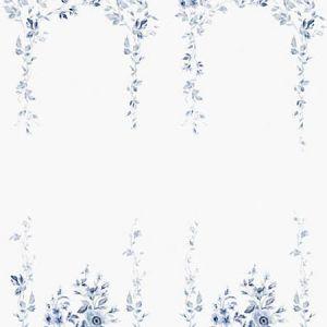 WSB 0004 0647 MARIEBERG MURAL Blue Sandberg Wallpaper