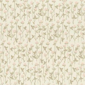 WSB 00190420 KLOVERANG Pink Sandberg Wallpaper