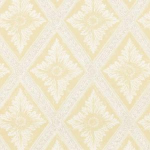WSB 0022 0493 LUDVIG Yellow Sandberg Wallpaper