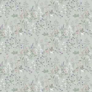 WSB 00270553 FLORA Turquoise Sandberg Wallpaper