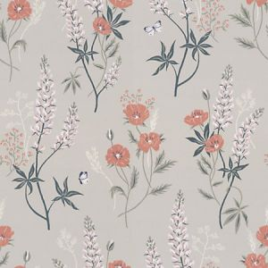 WSB 00290427 EMMA Light Grey Sandberg Wallpaper