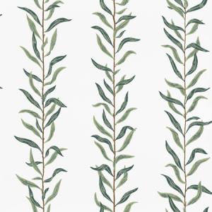 WSB 00580431 PIL Cream Dark Green Sandberg Wallpaper