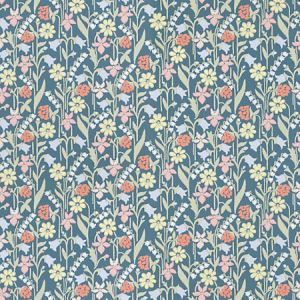 WSB 00770417 JUNIFLORA Dark Blue Sandberg Wallpaper