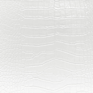 WSM 0001SLIC SLICK GATOR White Scalamandre Wallpaper