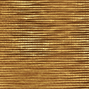 WTO GS100 GOLD AND SILVER Gold Tobacco Scalamandre Wallpaper