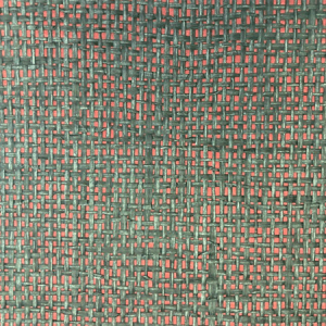 WTO SG106 METALLIC WEAVE Crimson Scalamandre Wallpaper