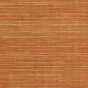 WTW GT3904 ORGANIC DUAL TONE SISAL Paprika Scalamandre Wallpaper