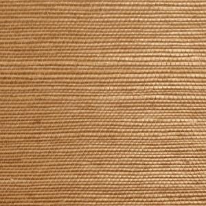 WTW GT3966 ORGANIC SISAL Cinnamon Scalamandre Wallpaper
