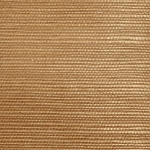 WTW GT3975 ORGANIC SISAL Saddle Scalamandre Wallpaper
