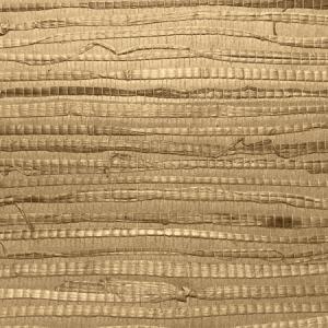 WTW MC1741 SPLENDOR RUSHCLOTH Cocoa Scalamandre Wallpaper