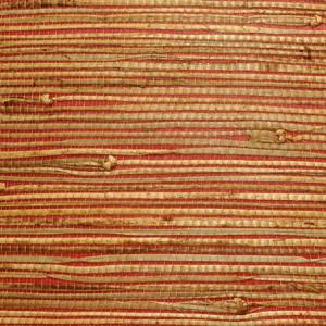 WTW ON2542 NATURAL RUSHCLOTH Strawberry Scalamandre Wallpaper