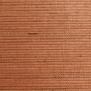 WTW SG5603 NATURAL SISAL Russet Scalamandre Wallpaper