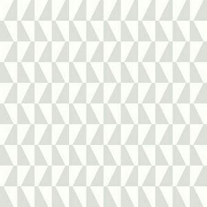 WV1779 Trapez Geometric Light Green Brewster Wallpaper