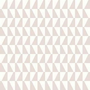WV1780 Trapez Geometric Blush Brewster Wallpaper