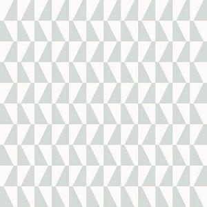 WV1781 Trapez Geometric Sage Brewster Wallpaper