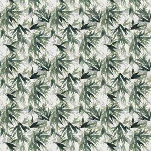 YABU Jungle Green Vervain Fabric