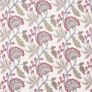 YOUR HEART Coral Carole Fabric