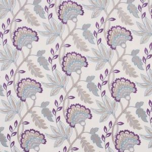 YOUR HEART Plum Carole Fabric