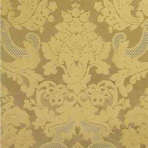 ZA 1778CALS CARLOS DAMASK Gold Old World Weavers Fabric