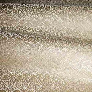 ZA 1780CALO CARLOS SMALL DAMASK Almond Old World Weavers Fabric