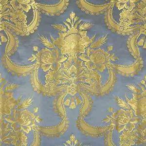 ZA 2158RNAS REALE NASTRI Blue Jay Old World Weavers Fabric