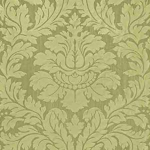 ZA 2163REGI VILLA REGINA DAMASK Pistachio Old World Weavers Fabric