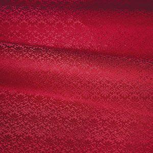 ZA 1783CALO CARLOS SMALL DAMASK Scarlet Old World Weavers Fabric