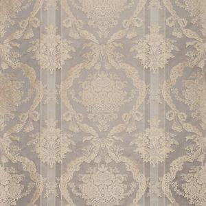 ZA 2196PTRS PETRARCA STRIPE Greige Travertine Old World Weavers Fabric