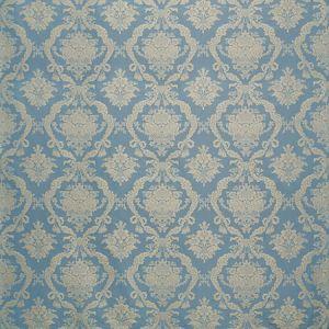 ZA 2202PETR PETRARCA DAMASCO Sky Old World Weavers Fabric
