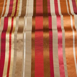 ZA 4860TOSC TOSCA STRIPE Berry Taupe Old World Weavers Fabric
