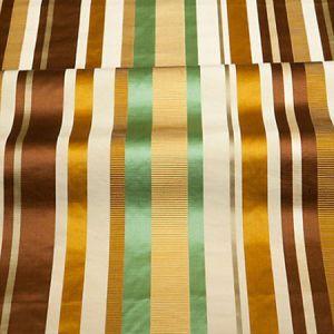 ZA 4861TOSC TOSCA STRIPE Caramel Mint Old World Weavers Fabric