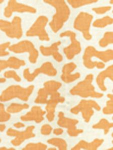 6085-12 ZEZE LEOPARD Apricot on Tint Quadrille Fabric