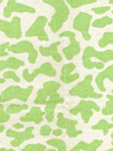 6085-11 ZEZE LEOPARD Limon on Tint Quadrille Fabric