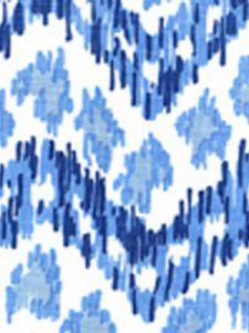 7320H-01W ZIZI HORIZONTAL Navy French Blue on White Quadrille Fabric