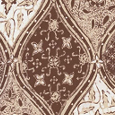 6630 09wp Balinese Batik Brown Cream On White Quadrille Wallpaper Discount Fabric And Wallpaper Online Store