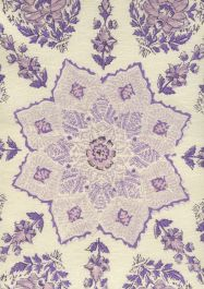 Hc1490c 10 Persepolis Lilac Purple On Cream Quadrille Fabric Discount Fabric And Wallpaper Online Store