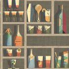 97/10048-CS ACQUARIO Black Mult Cole & Son Wallpaper