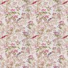 Vervain Buchoz Floral Claret Fabric