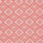 Schumacher Amazing Maze Coral Fabric