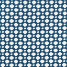 Schumacher Betwixt Indigo Ivory Fabric