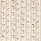 Schumacher Cabanon Stripe Rouge 175960 Fabric
