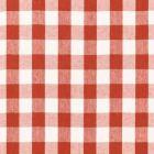 Schumacher Key West Check Persimmon 68012 Fabric