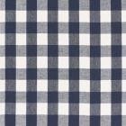 Schumacher Key West Check Navy 68015 Fabric