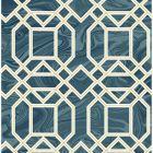 2763-24222 Daphne Blue Trellis Brewster Wallpaper