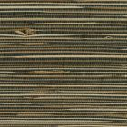 2732-89475 ANHUI Black Grasscloth Brewster Wallpaper
