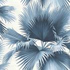 PS40102 ENDLESS SUMMER Blue Palm Brewster Wallpaper