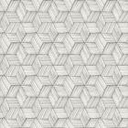 PS41400 INTERTWINED Grey Geometric Brewster Wallpaper