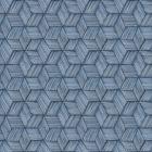 PS41402 INTERTWINED Blue Geometric Brewster Wallpaper