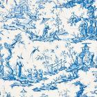 175804 SHENGYOU TOILE Blue Schumacher Fabric