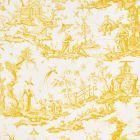 175805 SHENGYOU TOILE Yellow Schumacher Fabric